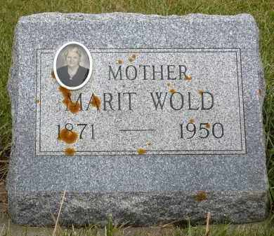 WOLD, MARIT - Minnehaha County, South Dakota | MARIT WOLD - South Dakota Gravestone Photos