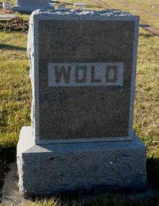 WOLD, MARIE - Minnehaha County, South Dakota | MARIE WOLD - South Dakota Gravestone Photos