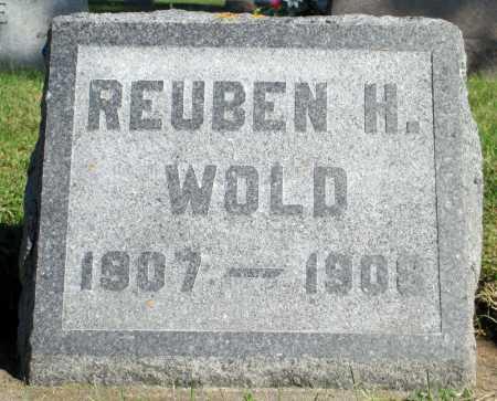 WOLD, REUBEN H. - Minnehaha County, South Dakota | REUBEN H. WOLD - South Dakota Gravestone Photos