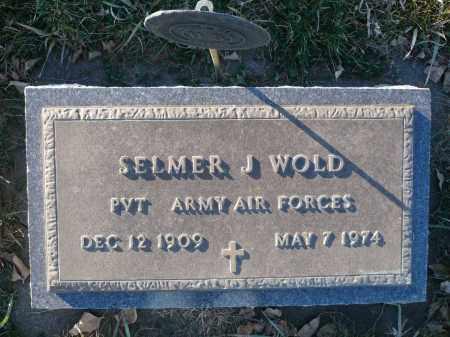 WOLD, SELMER J. - Minnehaha County, South Dakota | SELMER J. WOLD - South Dakota Gravestone Photos