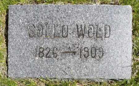 WOLD, SOLLO - Minnehaha County, South Dakota   SOLLO WOLD - South Dakota Gravestone Photos