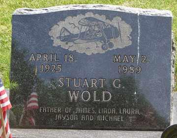 WOLD, STUART G. - Minnehaha County, South Dakota | STUART G. WOLD - South Dakota Gravestone Photos