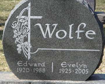 WOLFE, EDWARD - Minnehaha County, South Dakota | EDWARD WOLFE - South Dakota Gravestone Photos