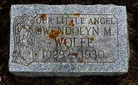 WOLFE, GWENDOLYN M. - Minnehaha County, South Dakota | GWENDOLYN M. WOLFE - South Dakota Gravestone Photos