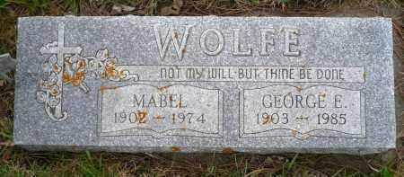 WOLFE, GEORGE E. - Minnehaha County, South Dakota | GEORGE E. WOLFE - South Dakota Gravestone Photos