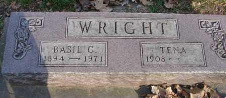 WRIGHT, BASIL C. - Minnehaha County, South Dakota | BASIL C. WRIGHT - South Dakota Gravestone Photos