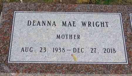 WRIGHT, DEANNA MAE - Minnehaha County, South Dakota | DEANNA MAE WRIGHT - South Dakota Gravestone Photos