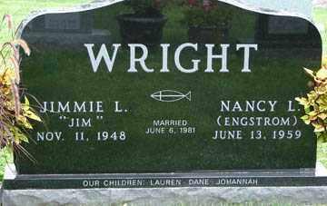 WRIGHT, JIMMIE L. - Minnehaha County, South Dakota | JIMMIE L. WRIGHT - South Dakota Gravestone Photos