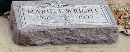 WRIGHT, MARIE I. - Minnehaha County, South Dakota | MARIE I. WRIGHT - South Dakota Gravestone Photos