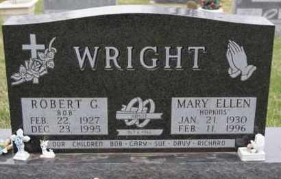 WRIGHT, MARY ELLEN - Minnehaha County, South Dakota | MARY ELLEN WRIGHT - South Dakota Gravestone Photos