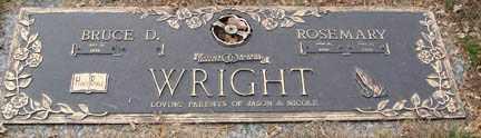 WRIGHT, BRUCE D. - Minnehaha County, South Dakota | BRUCE D. WRIGHT - South Dakota Gravestone Photos