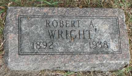 WRIGHT, ROBERT A. - Minnehaha County, South Dakota   ROBERT A. WRIGHT - South Dakota Gravestone Photos