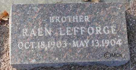 WRIGHT, RAEN LEFFORGE - Minnehaha County, South Dakota   RAEN LEFFORGE WRIGHT - South Dakota Gravestone Photos