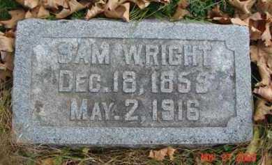 WRIGHT, SAM - Minnehaha County, South Dakota | SAM WRIGHT - South Dakota Gravestone Photos