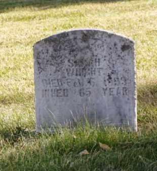 WRIGHT, SARAH - Minnehaha County, South Dakota   SARAH WRIGHT - South Dakota Gravestone Photos