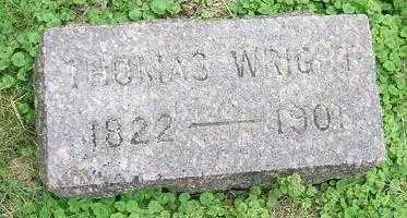 WRIGHT, THOMAS - Minnehaha County, South Dakota | THOMAS WRIGHT - South Dakota Gravestone Photos