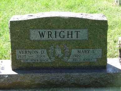 WRIGHT, VERNON D. - Minnehaha County, South Dakota | VERNON D. WRIGHT - South Dakota Gravestone Photos