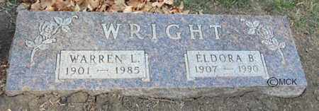 WRIGHT, ELDORA B. - Minnehaha County, South Dakota | ELDORA B. WRIGHT - South Dakota Gravestone Photos