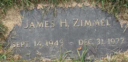 ZIMMEL, JAMES H. - Minnehaha County, South Dakota | JAMES H. ZIMMEL - South Dakota Gravestone Photos
