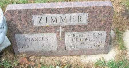 ZIMMER, INFANT DAUGHTER - Minnehaha County, South Dakota | INFANT DAUGHTER ZIMMER - South Dakota Gravestone Photos