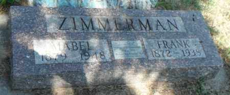 ZIMMERMAN, MABEL - Minnehaha County, South Dakota   MABEL ZIMMERMAN - South Dakota Gravestone Photos
