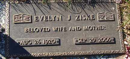 ZISKE, EVELYN JUANITA - Minnehaha County, South Dakota | EVELYN JUANITA ZISKE - South Dakota Gravestone Photos