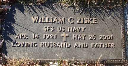 ZISKE, WILLIAM C. - Minnehaha County, South Dakota   WILLIAM C. ZISKE - South Dakota Gravestone Photos