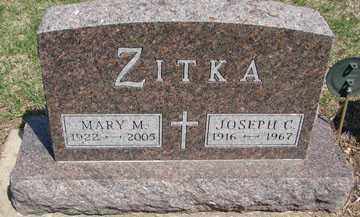 ZITKA, MARY M. - Minnehaha County, South Dakota | MARY M. ZITKA - South Dakota Gravestone Photos