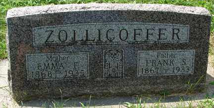 ZOLLICOFFER, FRANK S. - Minnehaha County, South Dakota | FRANK S. ZOLLICOFFER - South Dakota Gravestone Photos