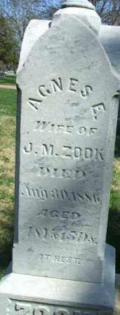 ZOOK, AGNES E. - Minnehaha County, South Dakota   AGNES E. ZOOK - South Dakota Gravestone Photos