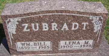 ZUBRADT, LENA M. - Minnehaha County, South Dakota   LENA M. ZUBRADT - South Dakota Gravestone Photos
