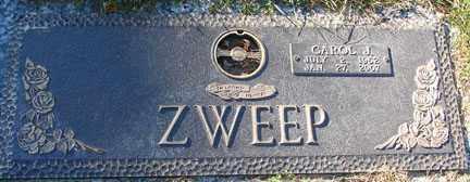HATTENDORF ZWEEP, CAROL JEAN - Minnehaha County, South Dakota | CAROL JEAN HATTENDORF ZWEEP - South Dakota Gravestone Photos