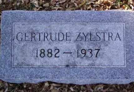 ZYLSTRA, GERTRUDE - Minnehaha County, South Dakota | GERTRUDE ZYLSTRA - South Dakota Gravestone Photos