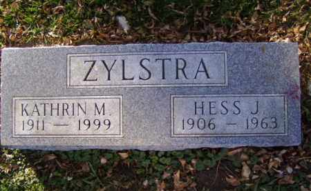 ZYLSTRA, HESS J. - Minnehaha County, South Dakota   HESS J. ZYLSTRA - South Dakota Gravestone Photos