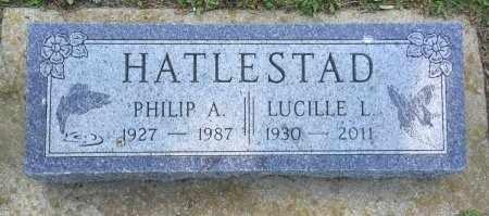 HATLESTAD, LUCILLE L. - Minnehaha County, South Dakota | LUCILLE L. HATLESTAD - South Dakota Gravestone Photos