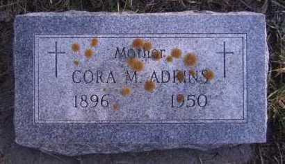 ADKINS, CORA M - Moody County, South Dakota | CORA M ADKINS - South Dakota Gravestone Photos
