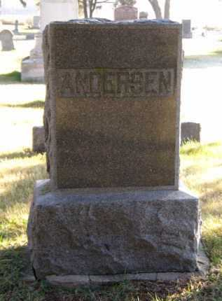 ANDERSEN, FAMILY - Moody County, South Dakota | FAMILY ANDERSEN - South Dakota Gravestone Photos