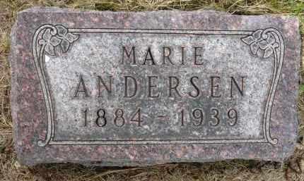 ANDERSEN, MARIE - Moody County, South Dakota   MARIE ANDERSEN - South Dakota Gravestone Photos