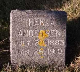 ANDERSEN, THEKLA - Moody County, South Dakota | THEKLA ANDERSEN - South Dakota Gravestone Photos