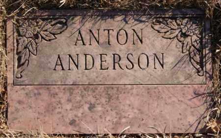 ANDERSON, ANTON - Moody County, South Dakota | ANTON ANDERSON - South Dakota Gravestone Photos