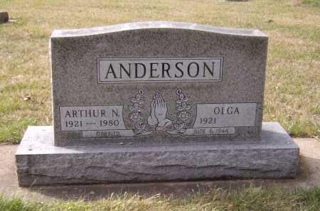 ANDERSON, OLGA - Moody County, South Dakota | OLGA ANDERSON - South Dakota Gravestone Photos