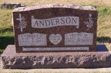 ANDERSON, IRENE M - Moody County, South Dakota | IRENE M ANDERSON - South Dakota Gravestone Photos