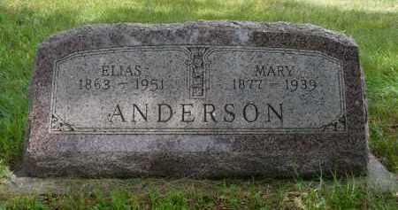 ANDERSON, MARY - Moody County, South Dakota | MARY ANDERSON - South Dakota Gravestone Photos