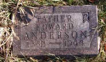 ANDERSON, EDWARD - Moody County, South Dakota | EDWARD ANDERSON - South Dakota Gravestone Photos