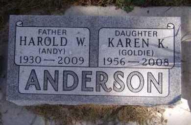 ANDERSON, KAREN K - Moody County, South Dakota | KAREN K ANDERSON - South Dakota Gravestone Photos