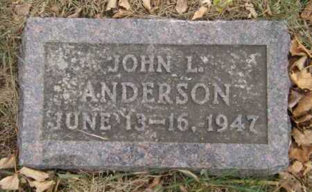 ANDERSON, JOHN L - Moody County, South Dakota | JOHN L ANDERSON - South Dakota Gravestone Photos