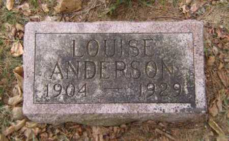 ANDERSON, LOUISE - Moody County, South Dakota | LOUISE ANDERSON - South Dakota Gravestone Photos