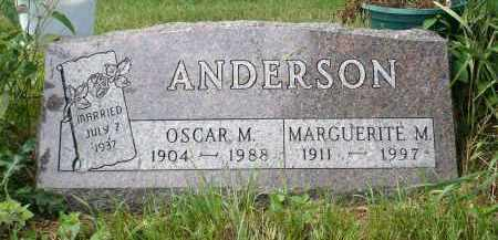ANDERSON, MARGUERITE M. - Moody County, South Dakota | MARGUERITE M. ANDERSON - South Dakota Gravestone Photos