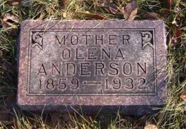 ANDERSON, OLENA - Moody County, South Dakota   OLENA ANDERSON - South Dakota Gravestone Photos