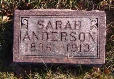 ANDERSON, SARAH - Moody County, South Dakota | SARAH ANDERSON - South Dakota Gravestone Photos
